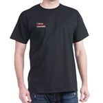 I Have Political Enemies Dark T-Shirt