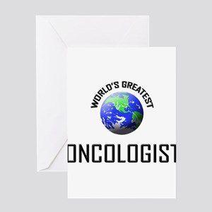 World's Greatest ONCOLOGIST Greeting Cards