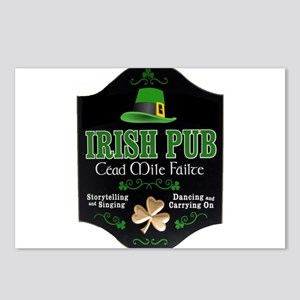 IRISH PUB Postcards (Package of 8)