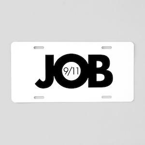 9/11 Inside Job Aluminum License Plate