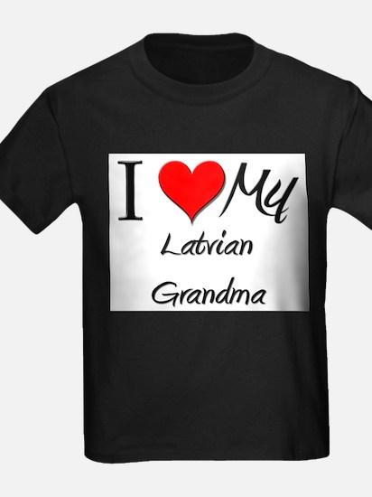 I Heart My Latvian Grandma T