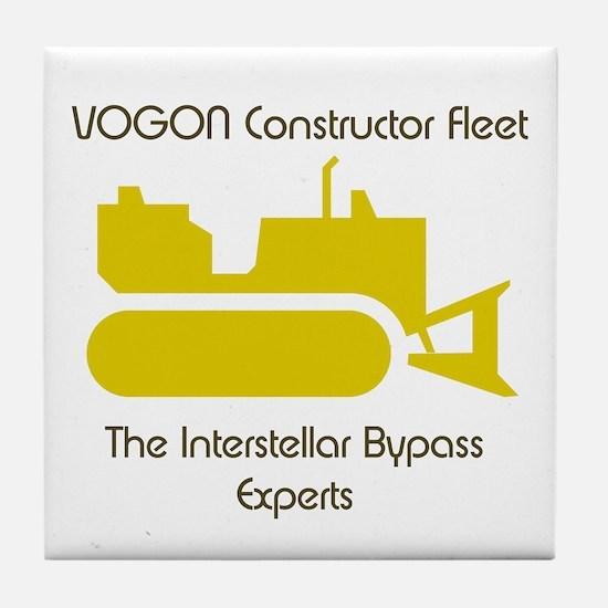 Hitchhiker - Vogon Construction - Tile Coaster