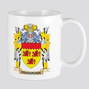 Fischmann Coat of Arms - Family Crest Mugs