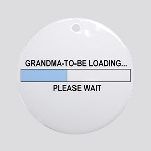 GRANDMA-TO-BE Ornament (Round)