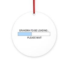 GRANDMA-TO-BE Ornament (Round)
