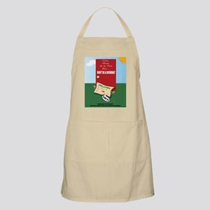 Offended DoorMat Light Apron