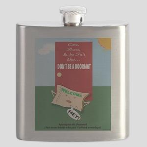 Offended DoorMat Flask