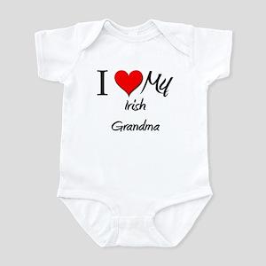 I Heart My Irish Grandma Infant Bodysuit