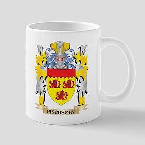 Fischsohn Coat of Arms - Family Crest Mugs