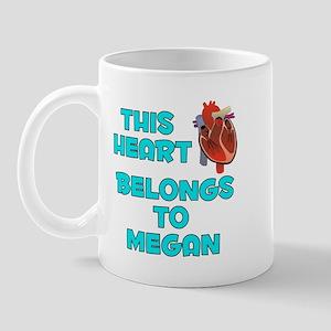 This Heart: Megan (B) Mug