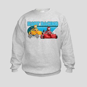 Kart Racing Kids Sweatshirt
