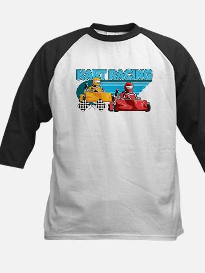 Kart Racing Kids Baseball Jersey