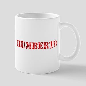 Humberto Rustic Stencil Design Mugs