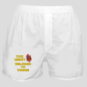 This Heart: Winnie (A) Boxer Shorts