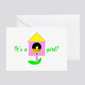 CHICK'S BIRDHOUSE Greeting Card