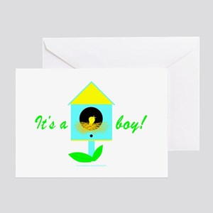 BABY BIRDIE Greeting Card