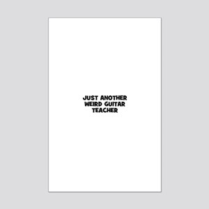 just another weird guitar tea Mini Poster Print