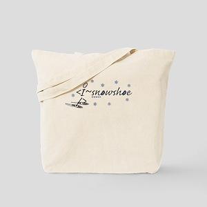 I snowshoe Tote Bag
