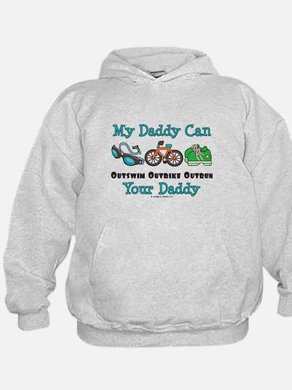 My Daddy Triathlon Hoodie