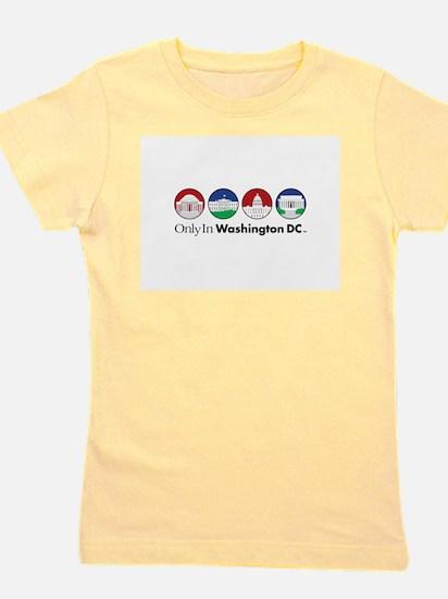 Monuments White T-Shirt