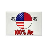 100% Me Rectangle Magnet (10 pack)