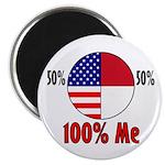 100% Me Magnet