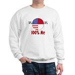 100% Me Sweatshirt