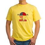 100% Me Yellow T-Shirt
