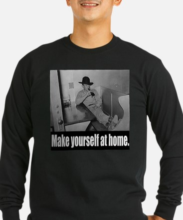 Make yourself at home. T