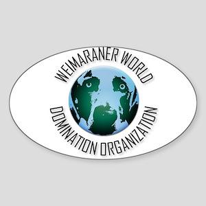 WWDO Logo Oval Sticker