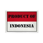 Product Of Indonesia Rectangle Magnet (10 pack)