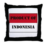 Product Of Indonesia Throw Pillow