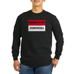 Product Of Indonesia Long Sleeve Dark T-Shirt