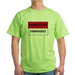 Product Of Indonesia Green T-Shirt