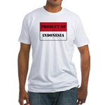Product Of Indonesia Fitted T-Shirt