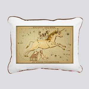 The Dog and the Unicorn Rectangular Canvas Pillow