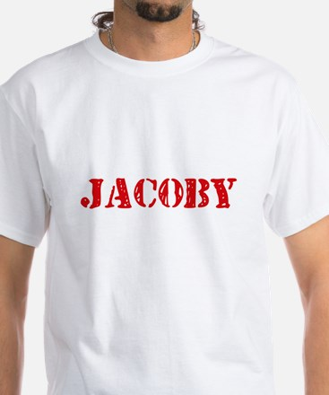 Jacoby Rustic Stencil Design T-Shirt