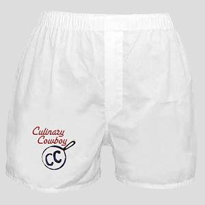 Culinary Cowboy Brand Logo Boxer Shorts