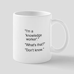 Knowledge Worker Mug