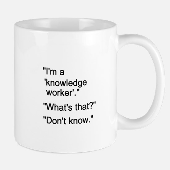 Knowledge Worker Mug
