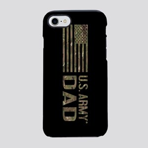 U.S. Army Dad: Camouflage iPhone 8/7 Tough Case
