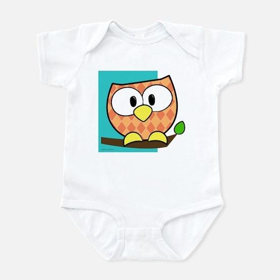 Colorful Owl Infant Bodysuit
