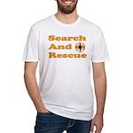 Orange SAR Fitted T-Shirt