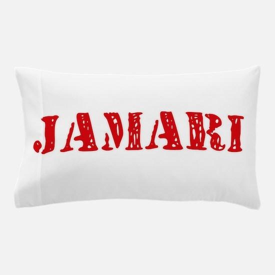 Jamari Rustic Stencil Design Pillow Case
