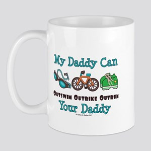 My Daddy Triathlon Mug