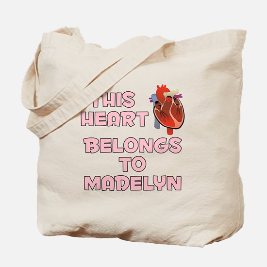 This Heart: Madelyn (C) Tote Bag