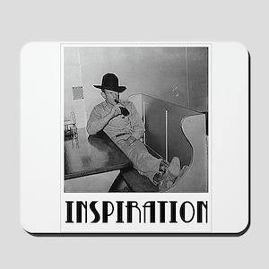 "Culinary Cowboy ""Inspiration"" Mousepad"