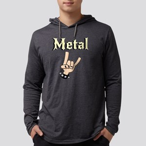 Metal Music Shirt - Gift For M Long Sleeve T-Shirt