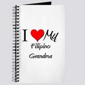 I Heart My Filipino Grandma Journal