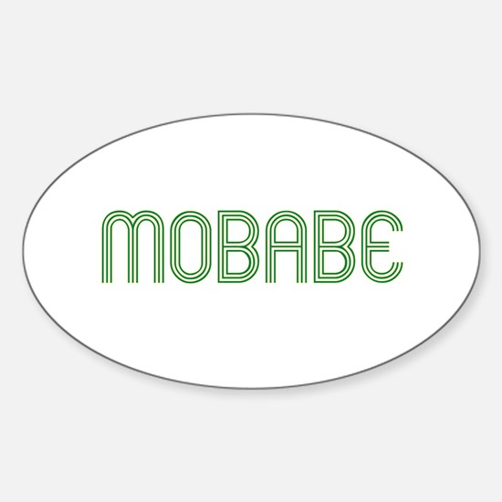 mobabe Oval Decal